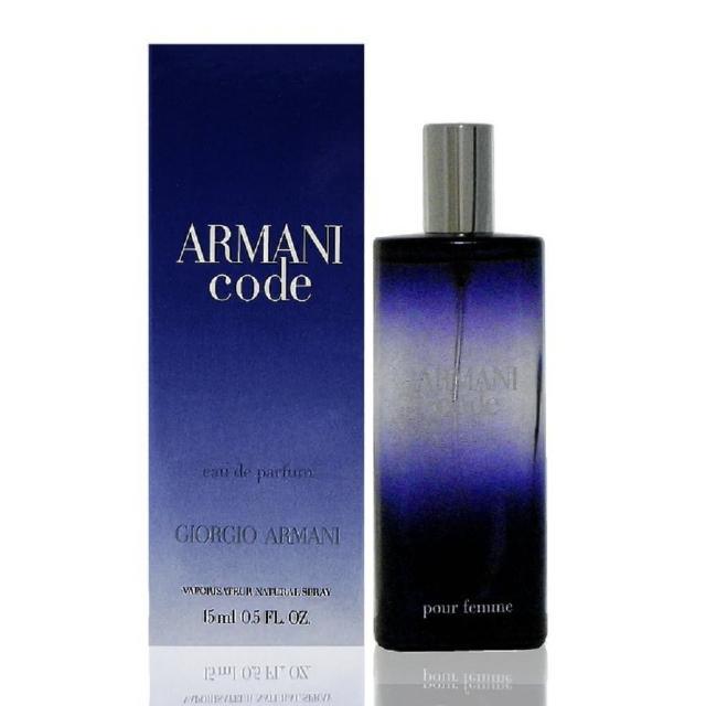【Giorgio Armani 亞曼尼】Code 真愛密碼女性淡香精(15ml)