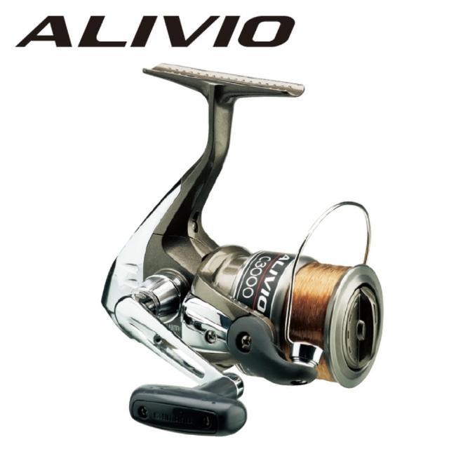 【SHIMANO】ALIVIO 6000紡車式捲線器(附6號-150m線)