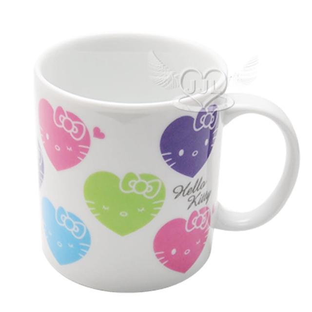 【TDL】HELLO KITTY馬克杯杯子彩色愛心 978786