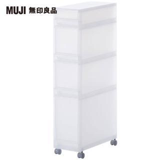 【MUJI 無印良品】PP附輪收納箱/2