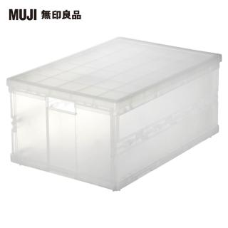 【MUJI 無印良品】PP搬運箱/摺疊式/大
