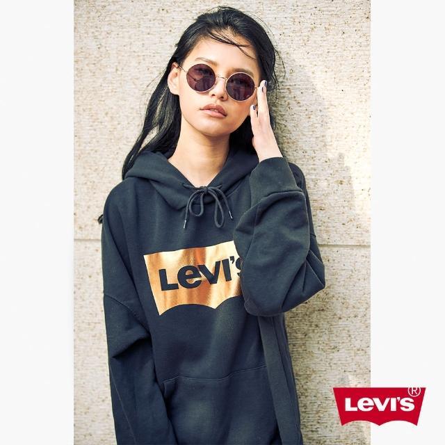 【LEVIS】帽T 女裝 / LOGO / 寬鬆版型