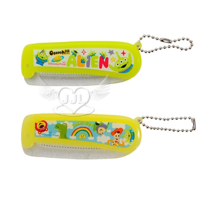 【TDL】玩具總動員三眼怪摺疊梳子扁梳 2選1 74316673
