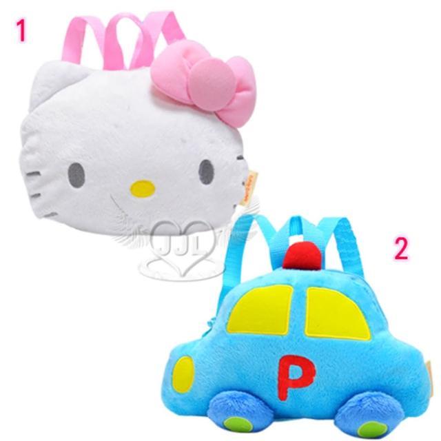 【TDL】HELLO KITTY工程車寶寶後背包幼童兒童後背包包(2選1 10291276)