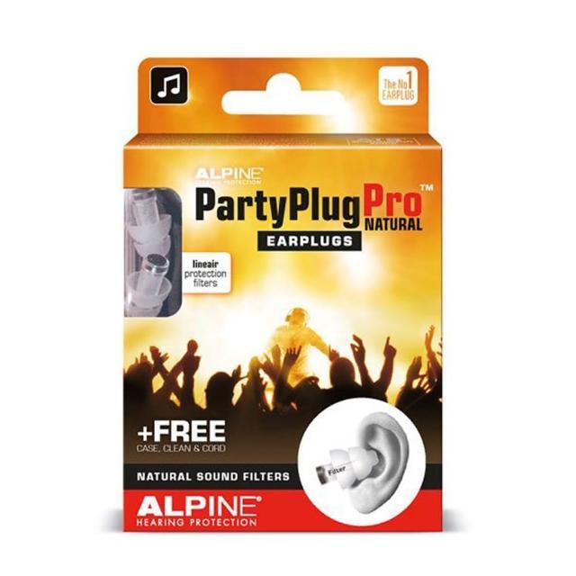 【ALPINE】PARTY PLUG PRO 頂級 音樂耳塞 聲音濾波器 荷蘭進口