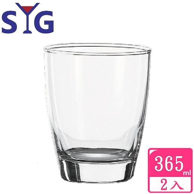 【SYG 台玻】玻璃桶杯啤酒杯365cc(2入組)
