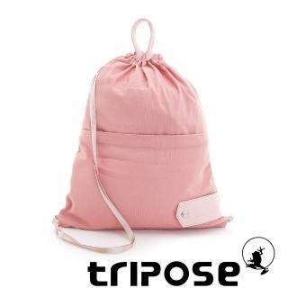 【tripose】微旅超輕量可攜式折疊後背包(粉)