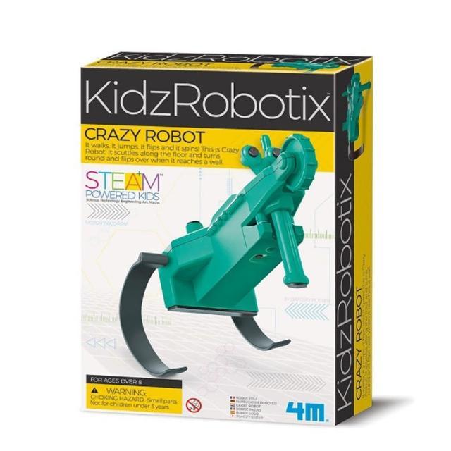 【4M】科學探索系列-蹦跳機器人 Crazy Robot(00-03393)