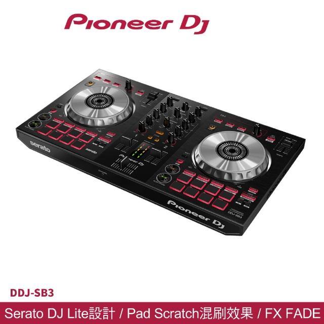 【Pioneer 先鋒】DDJ-SB3 入門級四軌 Serato DJ 控制器