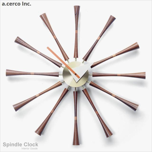 【a.cerco】軸心掛鐘 Spindle Clock