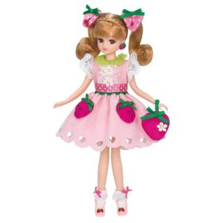 【TAKARA TOMY】莉卡娃娃 LD-08 奶油草莓莉卡(女孩 洋娃娃)
