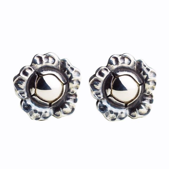 【Georg Jensen 乔治杰生】2002年度银石夹式耳环