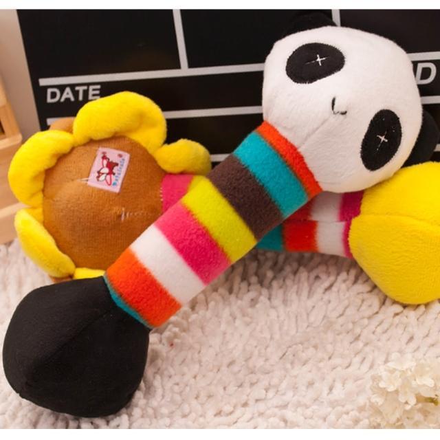 【Nikki飾品&玩具】寵物絨毛玩具-熊貓搖鈴1個