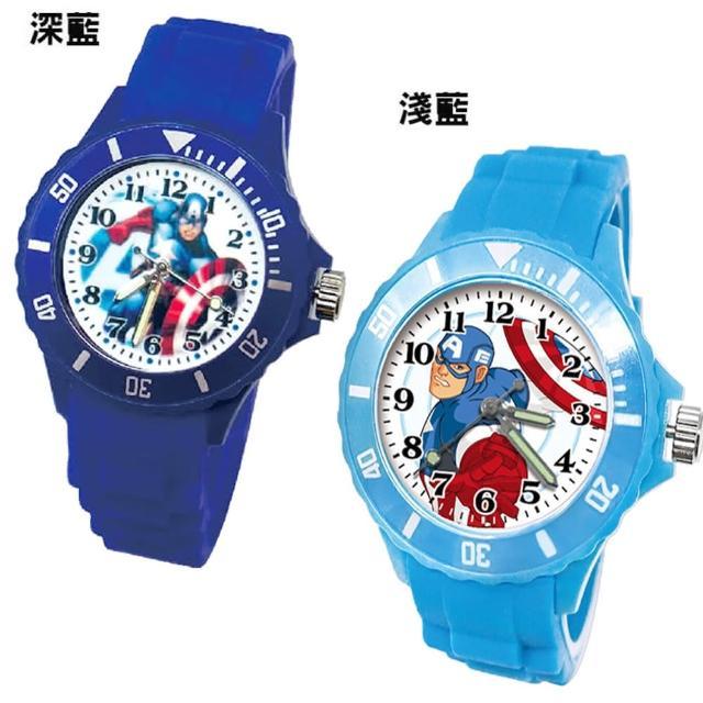 【TDL】漫威英雄美國隊長兒童手錶運動錶卡通錶 2選1 67783710