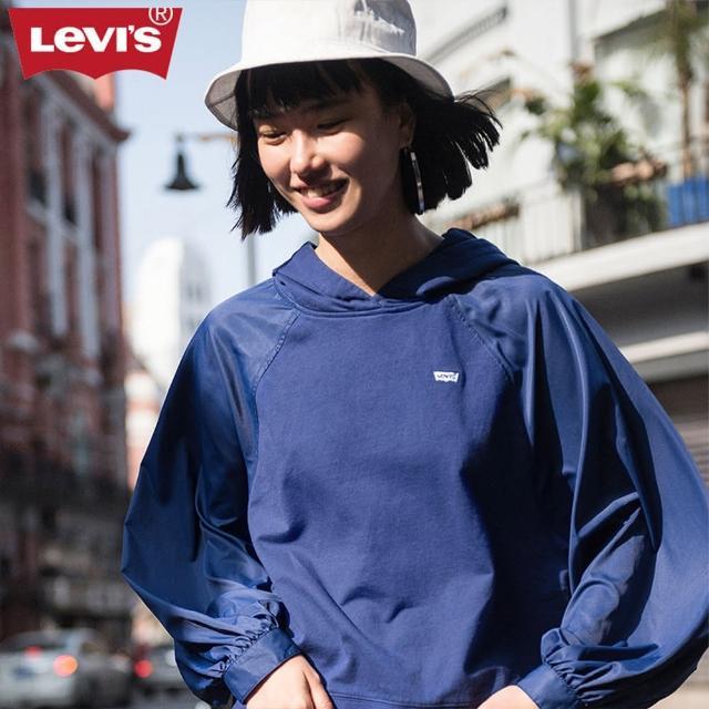 【LEVIS】帽T 女裝 / 寬鬆袖子