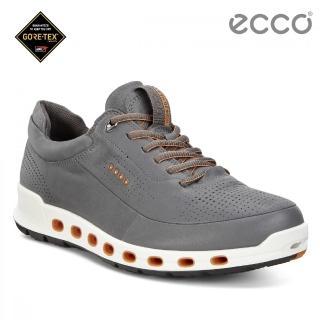 【ecco】COOL 2.0 360度環繞防水休閒運動鞋(灰 84251401602)