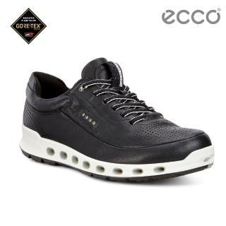 【ecco】COOL 2.0 360度環繞防水休閒運動鞋(黑 84251401001)
