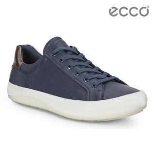 【ecco】KINHIN 清新系列休閒鞋(藍 43104450932)