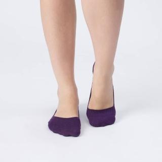 【aPure】除臭襪素色魔法隱形襪(深紫色)