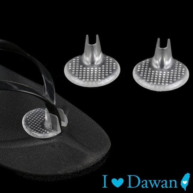 【IDAWAN 愛台灣】矽膠防磨夾腳涼鞋專用保護墊(2對入)