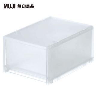 【MUJI 無印良品】PP盒/深型/正反疊/
