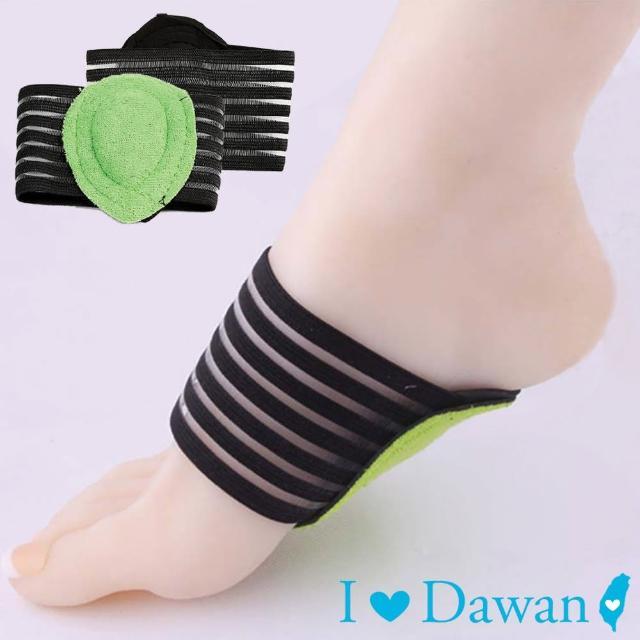 【IDAWAN 爱台湾】保护脚窝透气弹性脚垫(1对入)