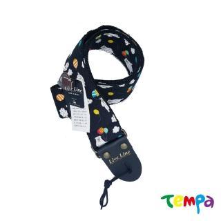 【Tempa】Live Line 日本製高質感吉他背帶-漂浮熱氣球