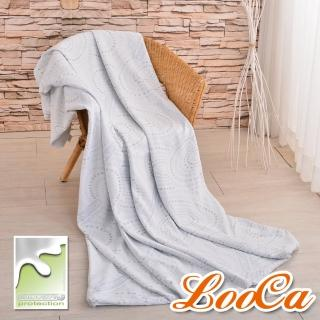 【LooCa】銀離子抗菌3-6cm薄床墊布套-拉鍊式(加大6尺)