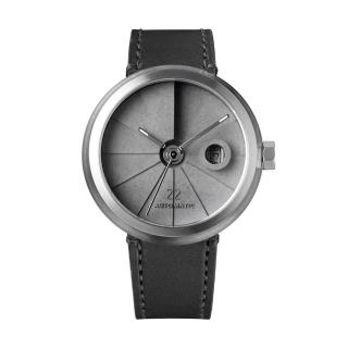 【22】四度空間水泥機械錶-簡約白鋼款-4D-Concrete-Watch-Automatic-Minimal-Stainless/45mm(22-CMW01S01)