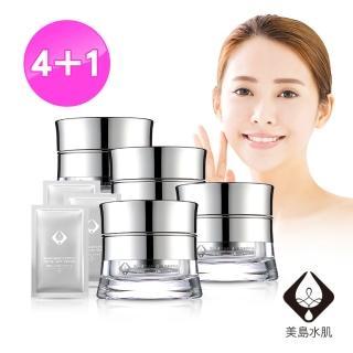 【美島水肌】日本藥用抗皺極緻逆齡霜(4+1組)