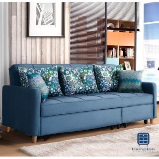 【Hampton 漢汀堡】喬伊絲沙發床(沙發/休閒沙發/椅子/沙發床)