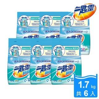 【一匙靈】制菌超濃縮洗衣粉補充包(1.7KGX6包/箱)