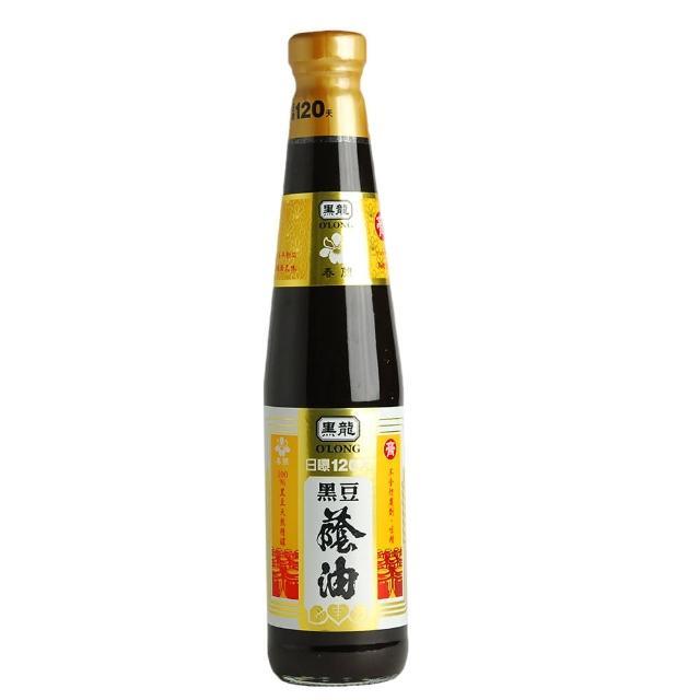 【黑龍】春蘭級黑豆蔭油膏(400ml)