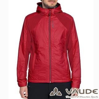 【VAUDE德國原廠】男款Primaloft科技保溫棉保暖外套(VA-05751紅15A/登山/旅遊/都會/休閒)