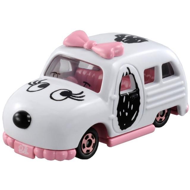 【TOMICA】DreamSNOOPY BELLE車(小汽車)