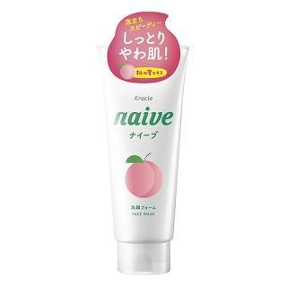 【Kracie 葵緹亞】娜艾菩naive植物性洗面乳-桃葉(130g)