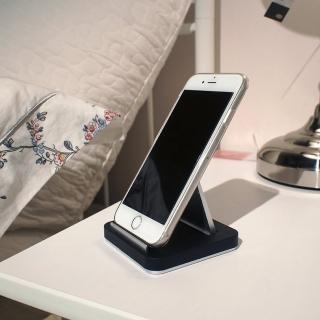 3D Air 簡約桌立式多角度手機底座/平板支架(黑色)