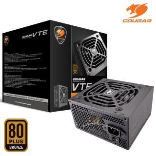【COUGAR 美洲獅】VTE 400W 電源供應器(80 PLUS 銅牌)