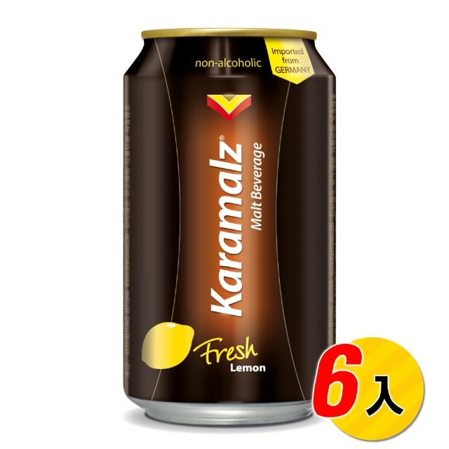 【Karamalz 卡麥隆】卡麥隆黑麥汁 檸檬(330ml*6入)