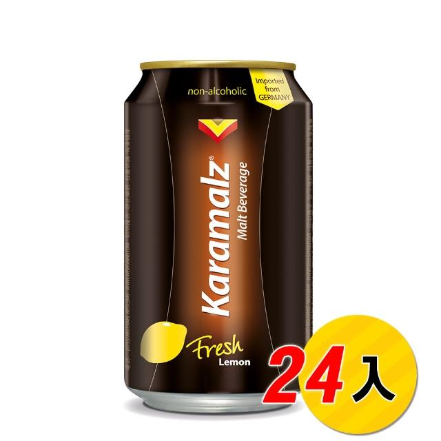 【Karamalz 卡麥隆】卡麥隆黑麥汁_檸檬(330ml*24入)