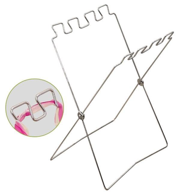 【DIBOTE 迪伯特】折疊式垃圾袋架(2入)