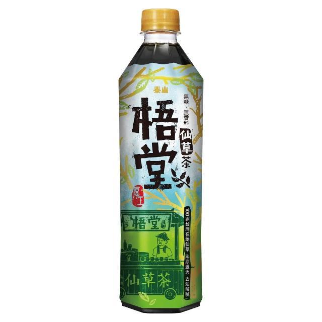 【泰山】梧堂仙草茶500ml(24入/箱)