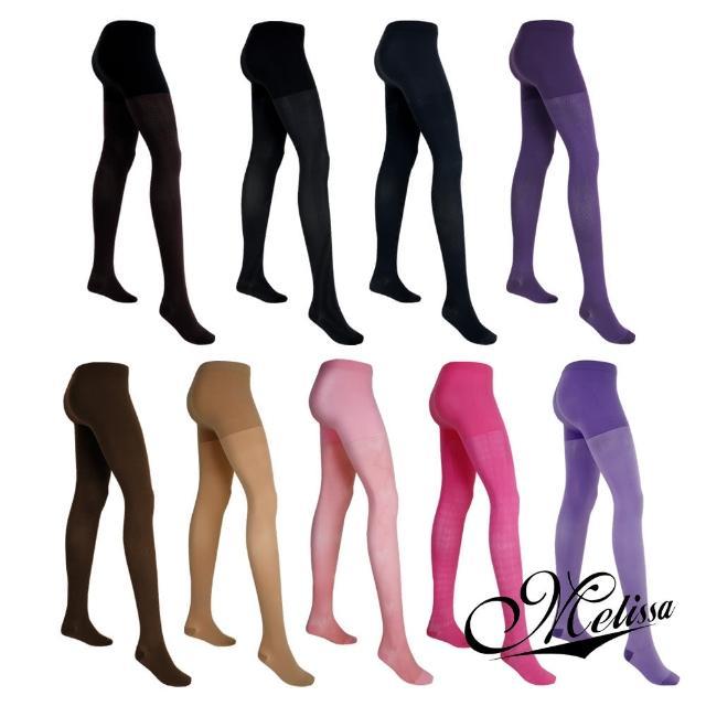 【Melissa 魅莉莎】醫療級時尚彈性褲襪(9色任選)