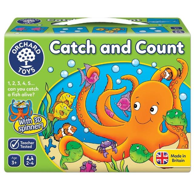 【Orchard Toys】幼兒桌遊-抓魚樂(Catch and Count Game)