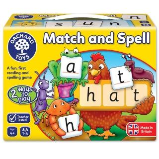 【Orchard Toys】幼兒桌遊-拼字讀音(Match and Spell Game)