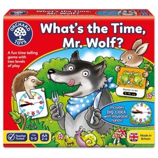 【Orchard Toys】幼兒桌遊-認識時間與時鐘(Whats the Time Mr Wolf Game)