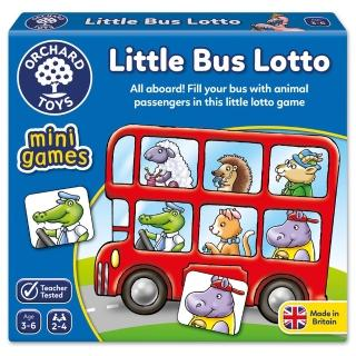 【Orchard Toys】可攜桌遊-車車載滿滿(Little Bus Lotto Mini Game)