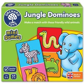 【Orchard Toys】可攜桌遊-叢林接龍(Jungle Dominoes Mini Game)