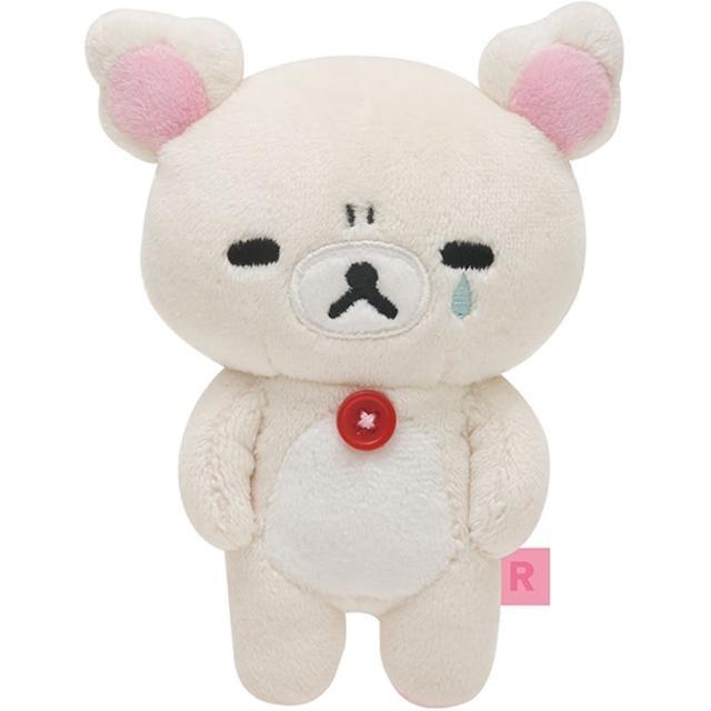 【San-X】拉拉熊可愛生活表情系列毛絨小公仔(懶妹流淚)