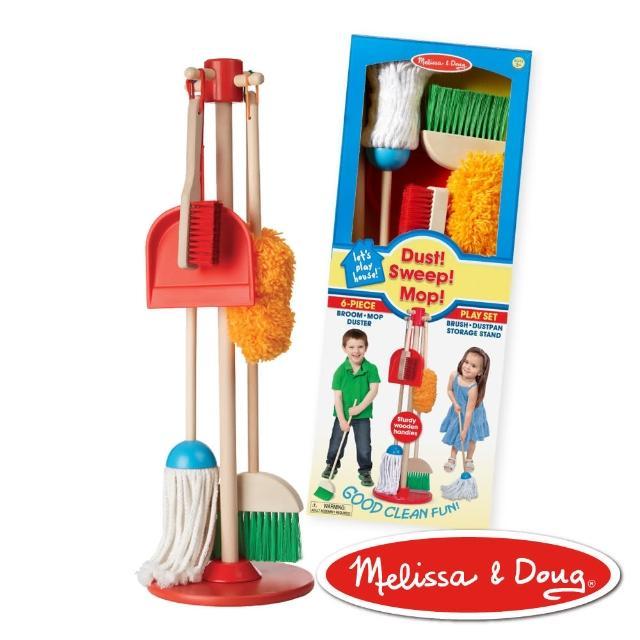 【Melissa & Doug 玛莉莎】角色扮演 -  幼儿扫地清洁工具组